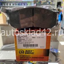 Тормозные колодки передние JUST DRIVE JBP-0037