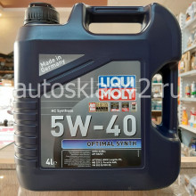 Масло моторное LIQUI MOLY Optimal Synth SN/CF 5W-40 4л