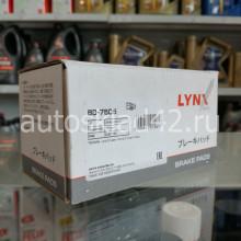 Тормозные колодки задние LYNXauto BD-7505