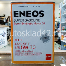 Масло моторное ENEOS SUPER GASOLINE SL GF-3 5W-30 4л