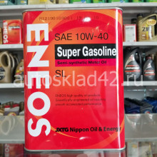 Масло моторное ENEOS SUPER GASOLINE SL 10W-40 4л