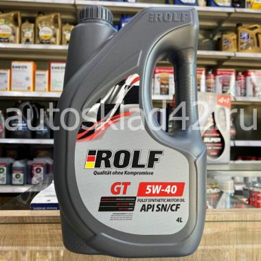 Масло моторное ROLF GT SN/CF 5W-40 ПРОМО 4+1л