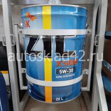 Масло моторное ZIC X5000 Diesel 5W-30 CI-4 20л (цена за 1л)