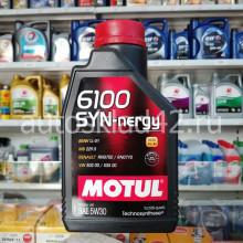 Масло моторное MOTUL 6100 SYN-nergy SL A3/B4 5W-30 1л