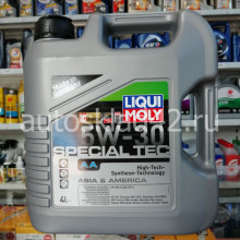 Масло моторное LIQUI MOLY Special Tec AA SN/CF 5W-30 4л