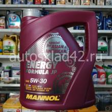 Масло моторное MANNOL SN/GF-5 Energy Formula JP 5W-30 4л