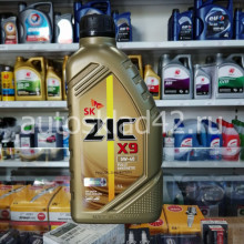 Масло моторное ZIC X9 5W-40 SN 1л