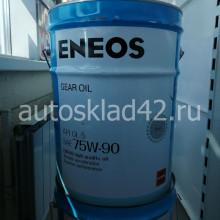 Масло трансмиссионное ENEOS GEAR OIL GL-5 75W-90 20л (цена за 1л)