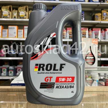 Масло моторное ROLF GT SN/CF 5W-30 ПРОМО 4+1л