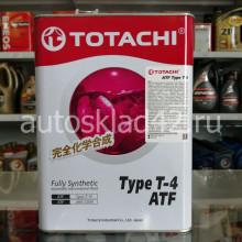 Масло для АКПП TOTACHI ATF Type T-4 4л