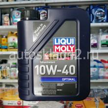 Масло моторное LIQUI MOLY Optimal SL/CF 10W-40 1л
