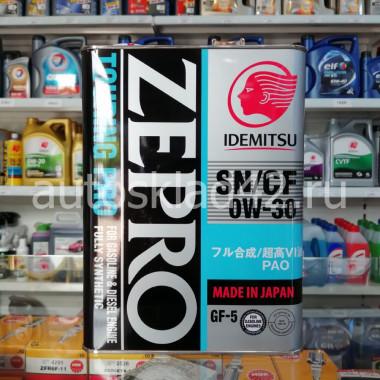 Масло моторное IDEMITSU Zepro Touring Pro 0W-30 SN/CF/GF-5 4л