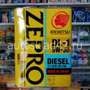 Масло моторное IDEMITSU Zepro DIESEL DL-1 5W-30 4л