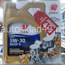 Масло моторное IDEMITSU Fully-Synthetic 5W-30 SN/GF-5 ПРОМО 4+1л
