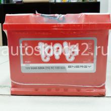 Аккумулятор TOPLA Energy 60Ah 12V 600A о/п (242*175*190) Ca/Ca