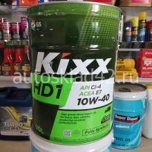 Масло моторное KIXX HD1 10W-40 CI-4/E7 20л (цена за 1л)