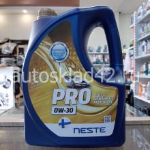 Масло моторное NESTE PRO 0W-30 4л