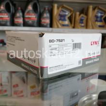 Тормозные колодки задние LYNXauto BD-7521