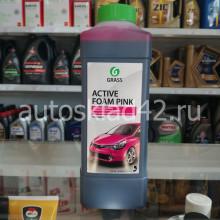 GRASS Active Foam Pink Автошампунь для бесконтактной мойки концентрат 1л