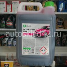 GRASS Active Foam Pink Автошампунь для бесконтактной мойки концентрат 6кг