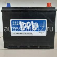 Аккумулятор TOPLA Asia TOP 75Ah 12V 740A о/п (269*173*218) Ca/Ca