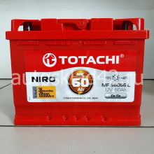 Аккумулятор TOTACHI NIRO 60Ah 12V 520-570A о/п (242*175*190) Ca/Ca