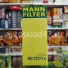 Фильтр масляный MANN HU 727/1 x