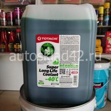 Антифриз TOTACHI SUPER LLC -40 (зеленый) 10л