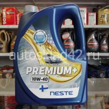 Масло моторное NESTE PREMIUM+ 10W-40 4л