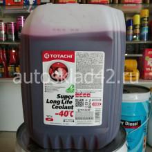 Антифриз TOTACHI SUPER LLC -40 (красный) 10л