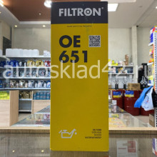 Фильтр масляный FILTRON OE 651