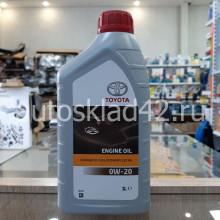 Масло моторное TOYOTA AFE EXTRA 0W-20 GF-5 SN 1л