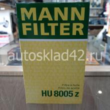 Фильтр масляный MANN HU 8005 z