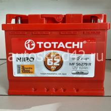 Аккумулятор TOTACHI NIRO 62Ah 12V 560-620A п/п (242*175*190) Ca/Ca
