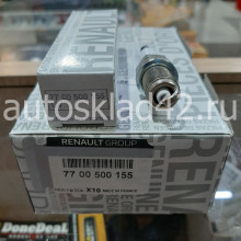 Свеча зажигания RENAULT 7700500155 (1электрод)