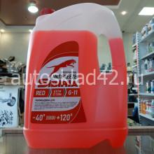Антифриз SIBIRIA G-11 (красный) 10кг