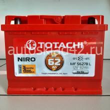 Аккумулятор TOTACHI NIRO 62Ah 12V 560-620A о/п (242*175*190) Ca/Ca