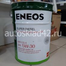 Масло моторное ENEOS  SUPER DIESEL CG-4 5W-30 20л (цена за 1л)