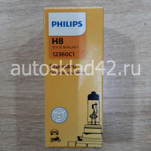 Автолампа PHILIPS H8 12V 35W PGJ19-1