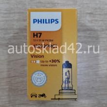 Автолампа PHILIPS H7 12V 55W PX26D
