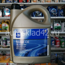 Масло моторное GM 5W-30 Dexos2 C3 SN/CF 5л