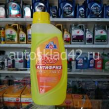 Антифриз AGAZ65 G12++ (желтый) 1кг