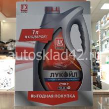 Масло моторное Лукойл-Супер SG/CD 5W-40 ПРОМО 4+1л