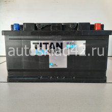 Аккумулятор Титан Euro Silver 85Ah 12V 800A о/п низкий (314*175*175)