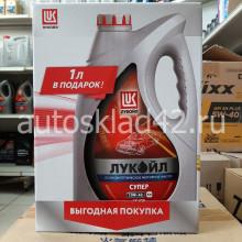 Масло моторное Лукойл-Супер SG/CD 10W-40 ПРОМО 4+1л
