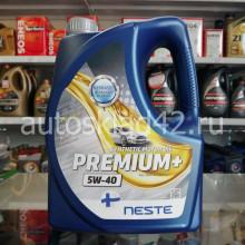 Масло моторное NESTE PREMIUM+ 5W-40 4л