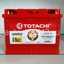 Аккумулятор TOTACHI NIRO 60Ah 12V 520-570A п/п (242*175*190) Ca/Ca