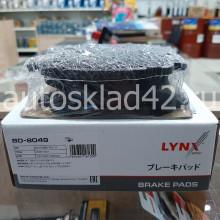 Тормозные колодки задние LYNXauto BD-8049