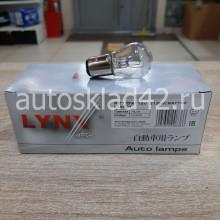 Автолампа LYNXauto P21/5W 12V BAY15D