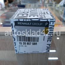 RENAULT 152085758R Фильтр масляный